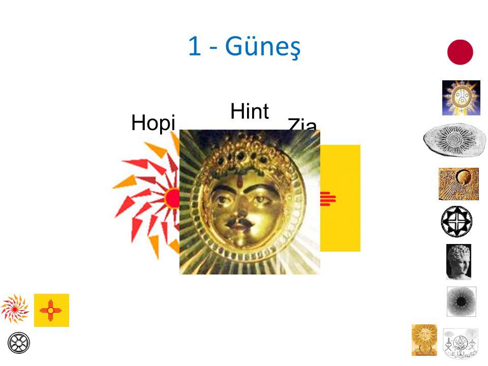 1 - Güneş Hopi Zia Hint