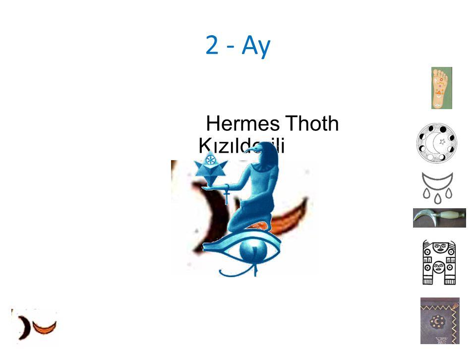 2 - Ay Kızılderili Hermes Thoth