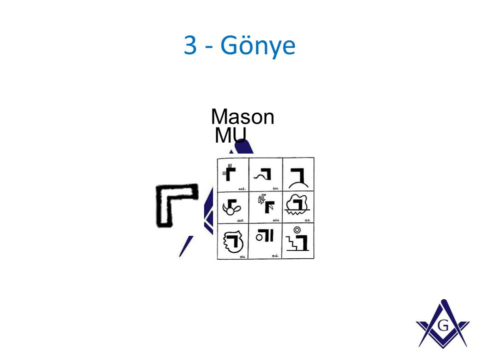 3 - Gönye Mason MU