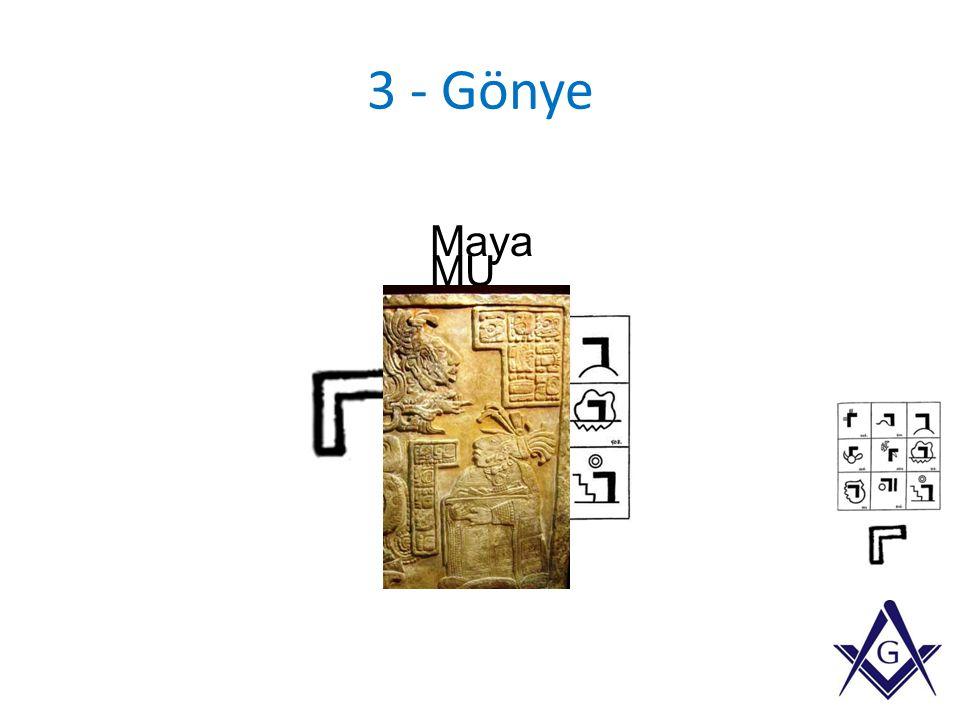 3 - Gönye MU Maya