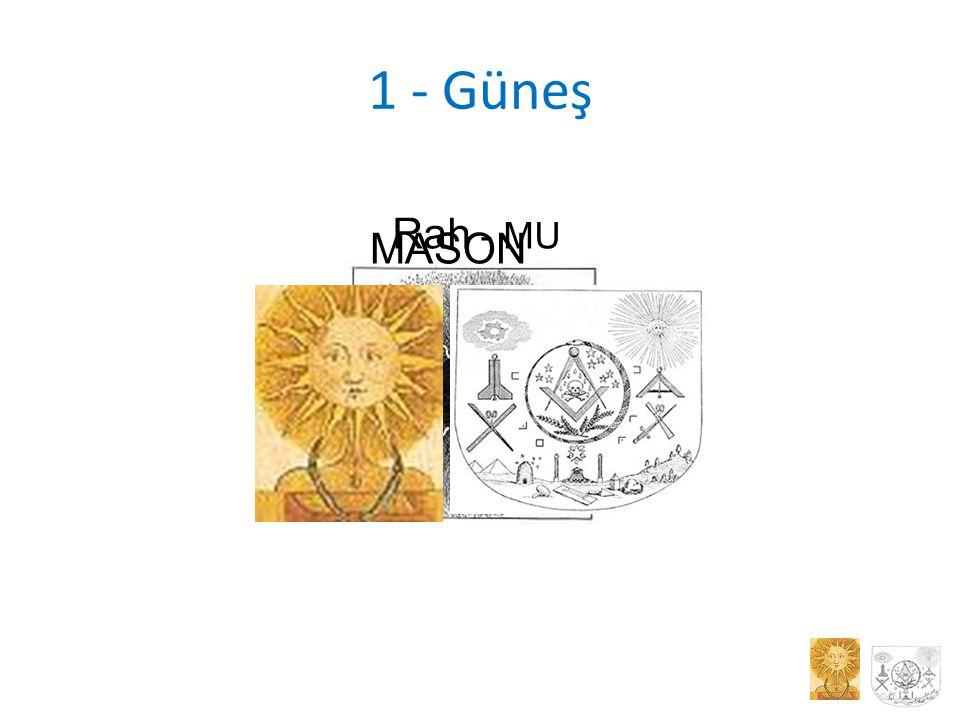 1 - Güneş Rah - MU MASON