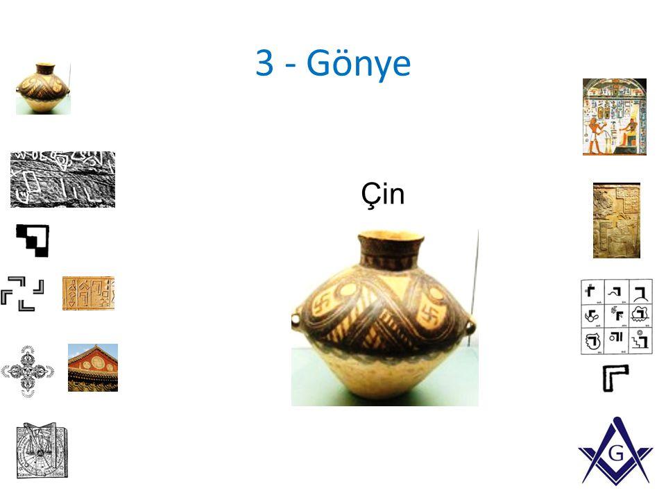3 - Gönye Çin