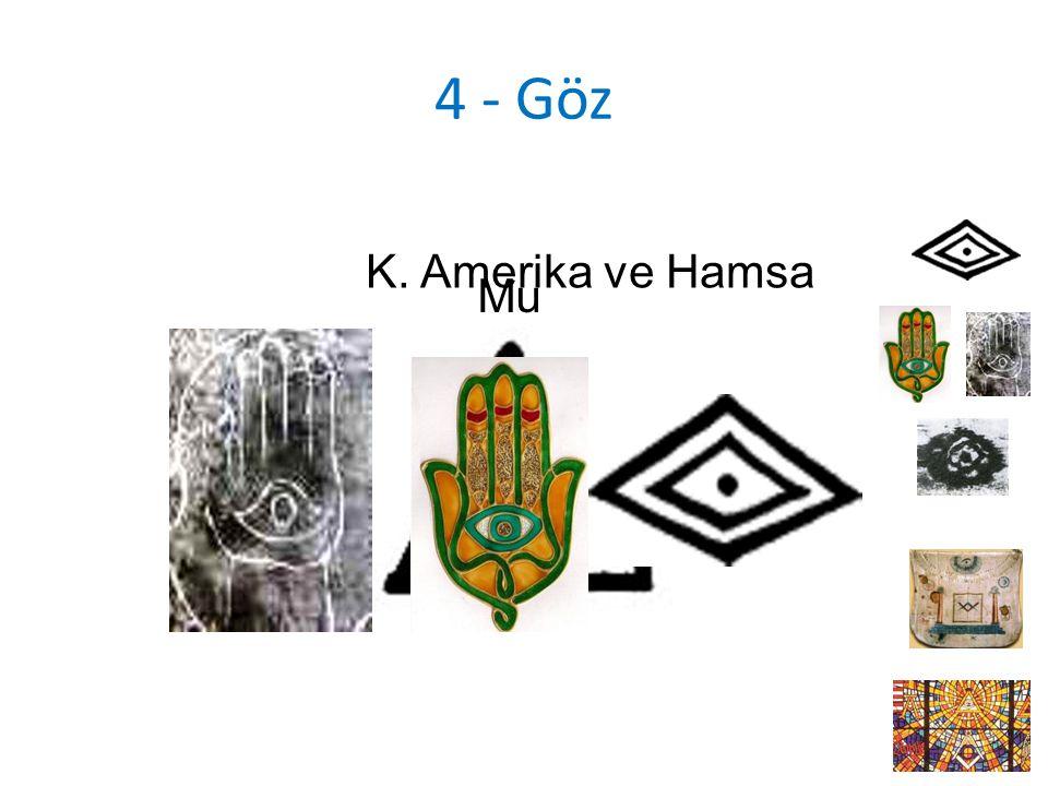 4 - Göz Mu K. Amerika ve Hamsa