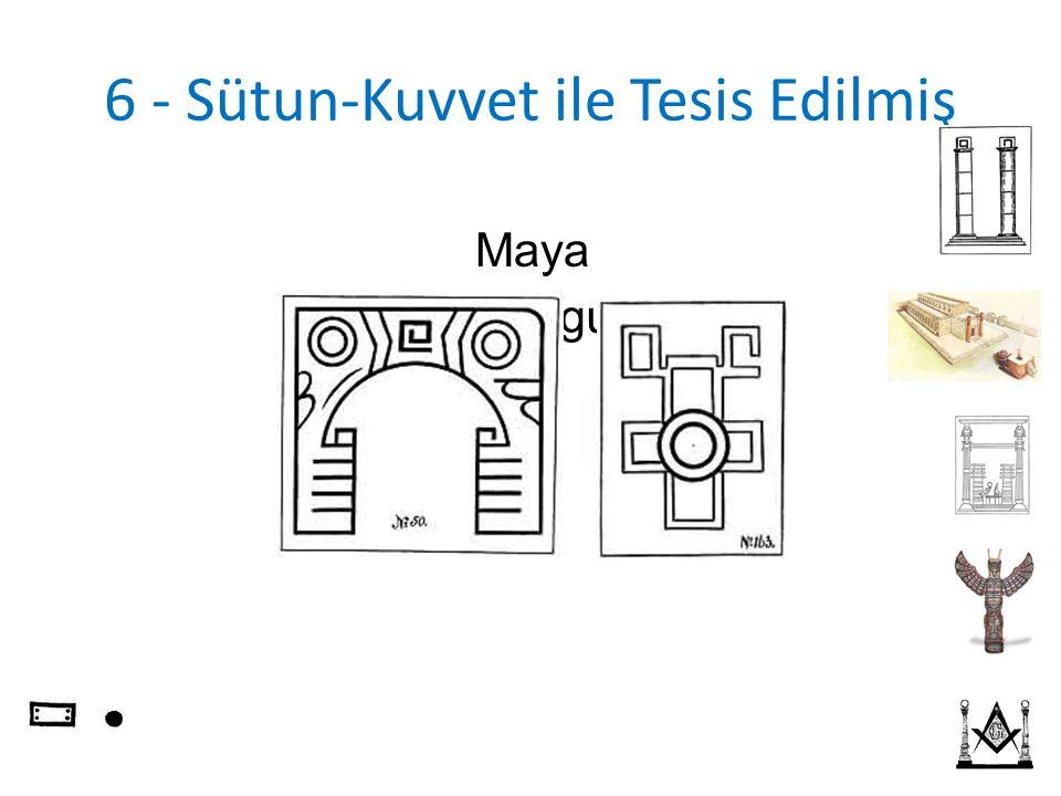 6 - Sütun-Kuvvet ile Tesis Edilmiş Eski Uygur Maya