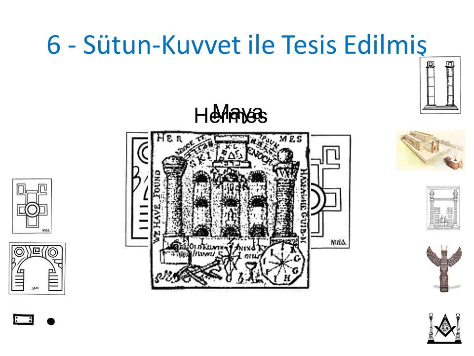 6 - Sütun-Kuvvet ile Tesis Edilmiş Maya Hermes