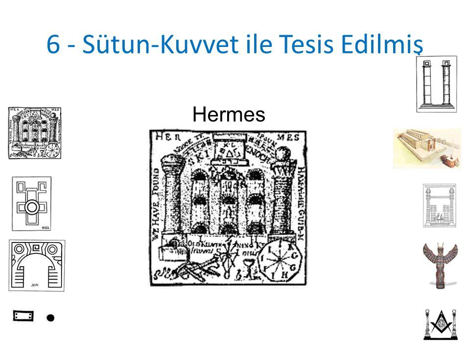 6 - Sütun-Kuvvet ile Tesis Edilmiş Hermes