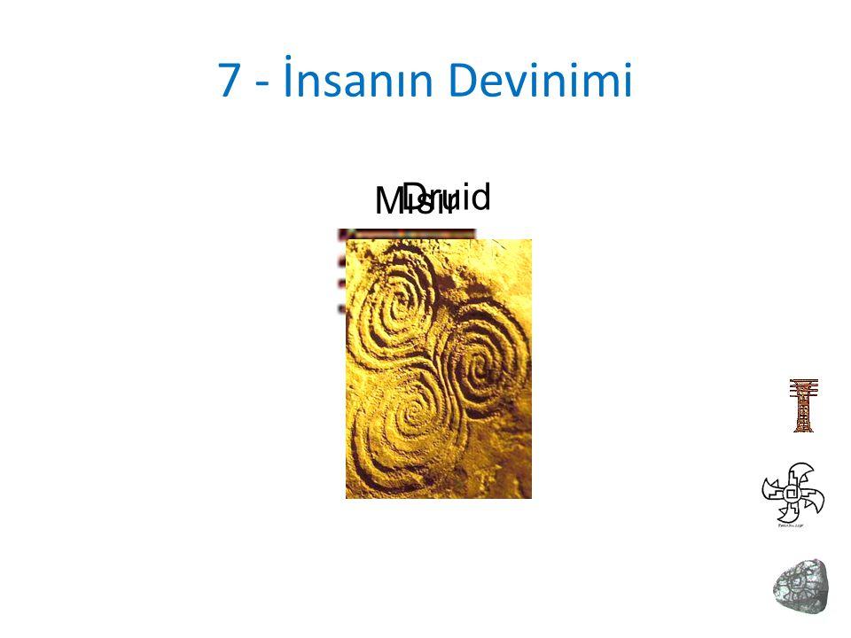 7 - İnsanın Devinimi Mısır Druid