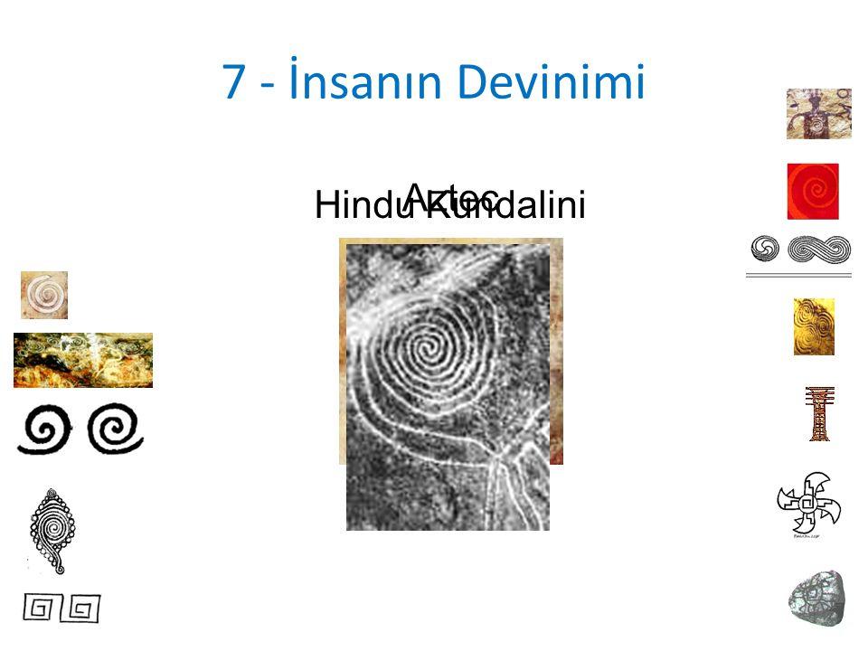 7 - İnsanın Devinimi Hindu Kundalini Aztec