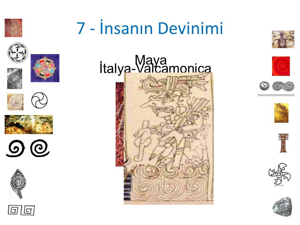 7 - İnsanın Devinimi İtalya-Valcamonica Maya
