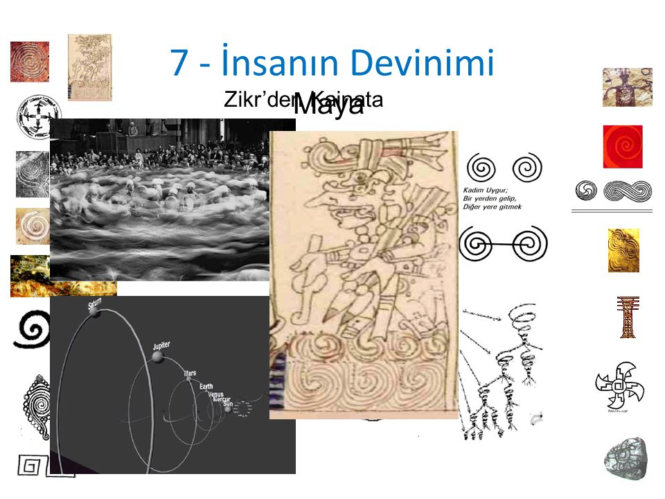 7 - İnsanın Devinimi Zikr'den Kainata Maya