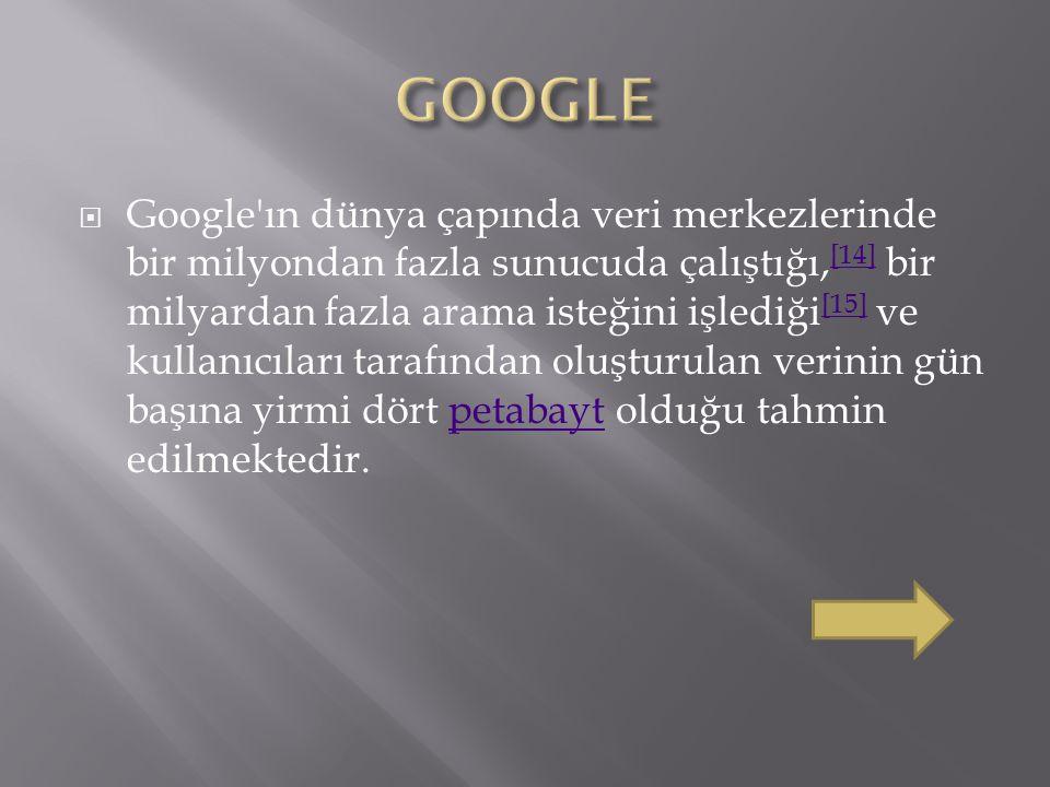  Google, ilk olarak, 4 Eylül 1998 tarihinde özel bir şirket olarak kuruldu ve 19 Ağustos 2004 tarihinde halka arz edildi.