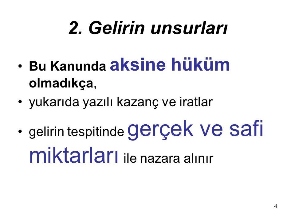 25 Değerlendirmeden Maksat Ödemenin Türkiye de yapılması veya ödeme yabancı memlekette yapılmışsa, Türkiye de ödeyenin veya nam ve hesabına ödeme yapılanın hesaplarına intikal ettirilmesi veya kârından ayrılmasıdır.