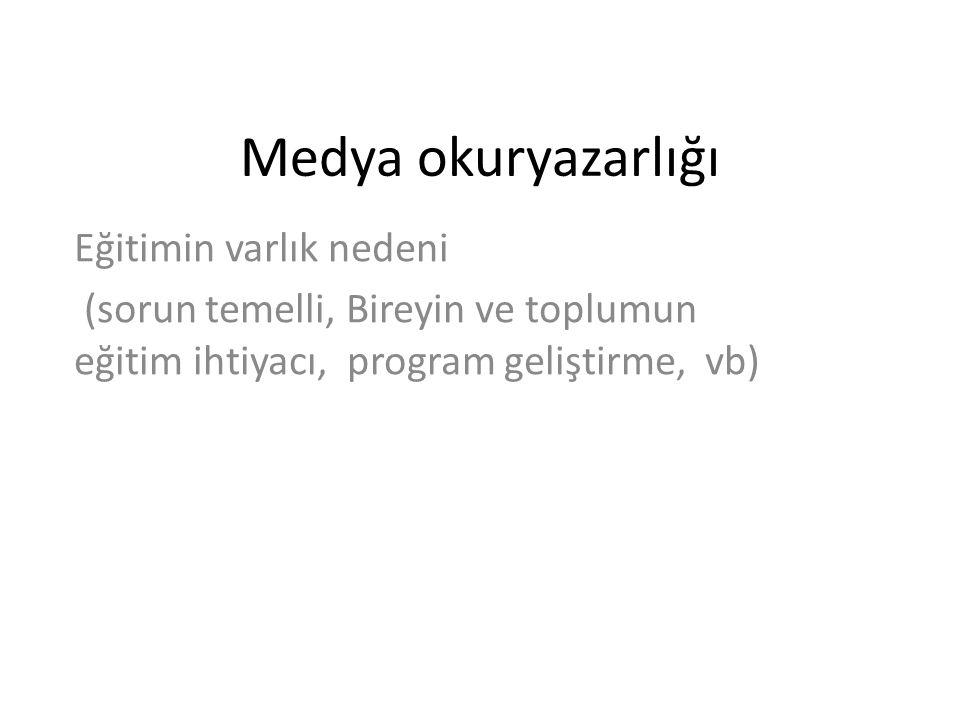 Gelişim Süreci 22 Ağustos 2006 tarihinde RTÜK ile TTKB arasında Medya Okuryazarlığı Dersi Konulmasına Dair İşbirliği Protokolü imzalanmıştır.