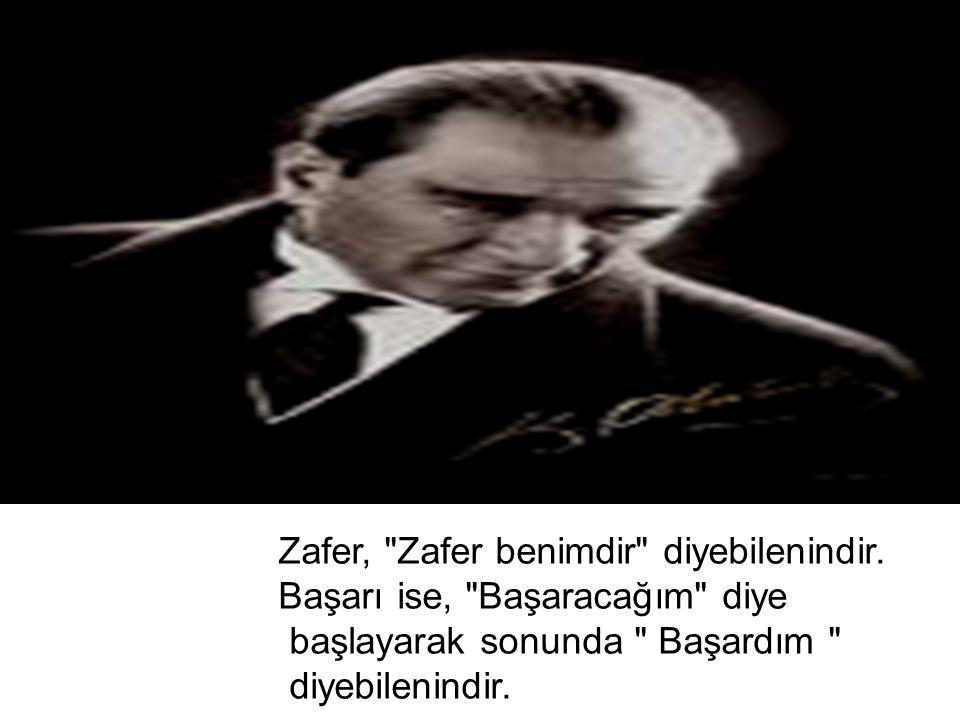 Zafer,