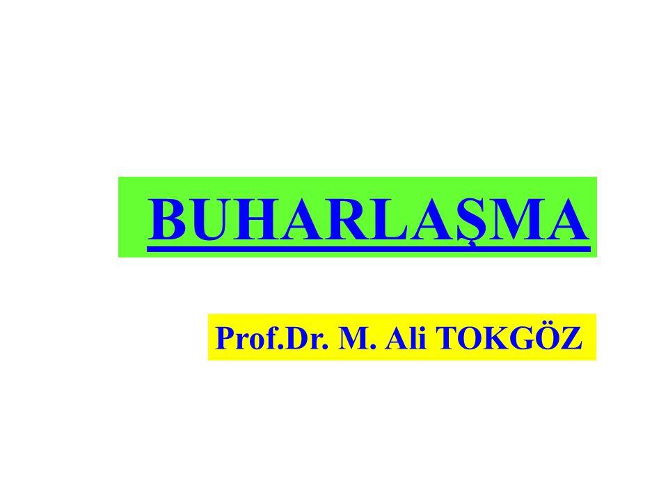 BUHARLAŞMA Prof.Dr. M. Ali TOKGÖZ