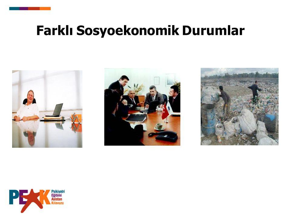 Farklı Sosyoekonomik Durumlar