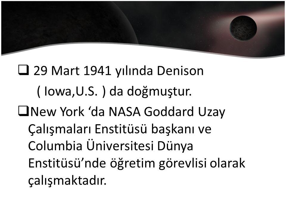  29 Mart 1941 yılında Denison ( Iowa,U.S. ) da doğmuştur.
