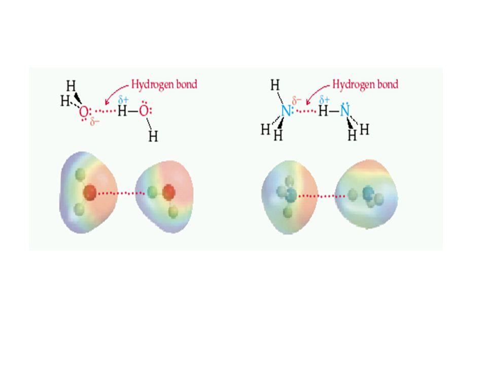 Some Properties of Liquids Kohezyon kuvvetleri Benzer moleküller arası moleküller arası kuvvetlerdir.