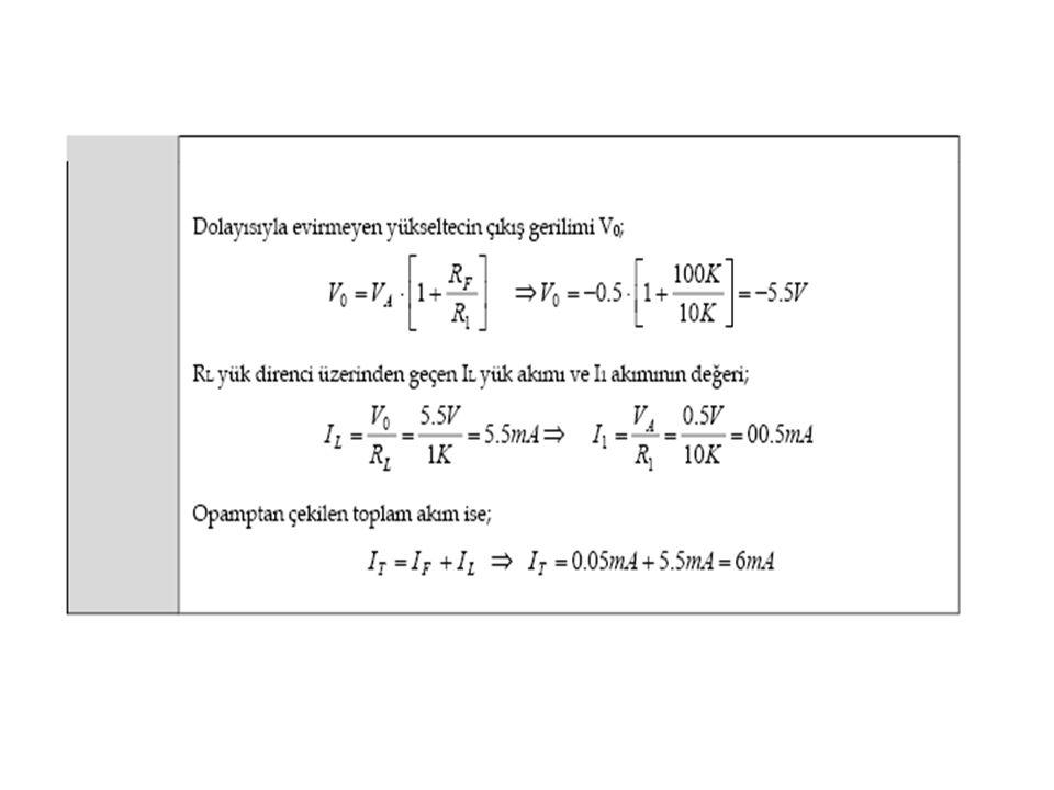 Örnek Yukarıda verilen iki katlı yükselteç devresi için aşağıdaki soruları cevaplayınız.