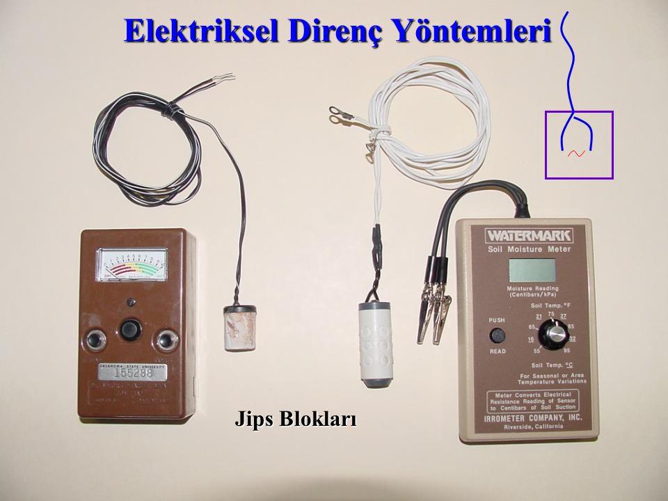 Elektriksel Direnç Yöntemleri Jips Blokları