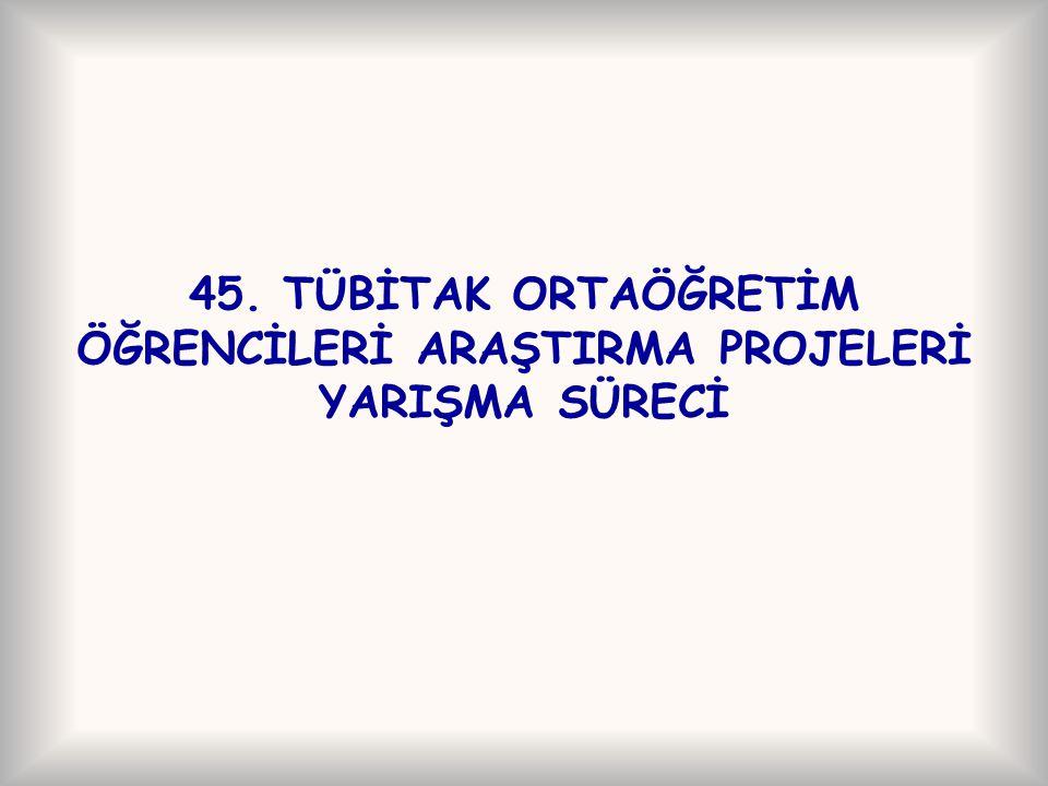 Yarışma bilgilerine erişim Proje rehberine www.projeyarismasi.org, www.projeyarismasi.org online başvuru formuna https://e-bideb.tubitak.gov.tr adresinden ulaşılabilir.