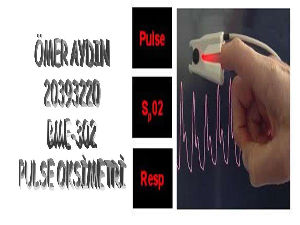 Pulse oksimetri anlatımı başlıyor…