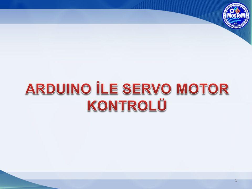 Servo motorlar hız ve konumları hassas olarak kontrol edilebilen elektrik motorlarıdır.