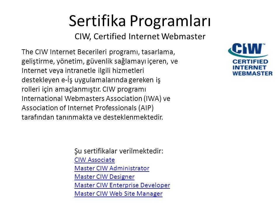 Sertifika Programları CISCO Sertifikaları Cisco sertifikaları elde edilmesi en çok talep edilen sertifikalar arasındadır ve de doğal olarak piyasada en çok aranan sertifikalardır.