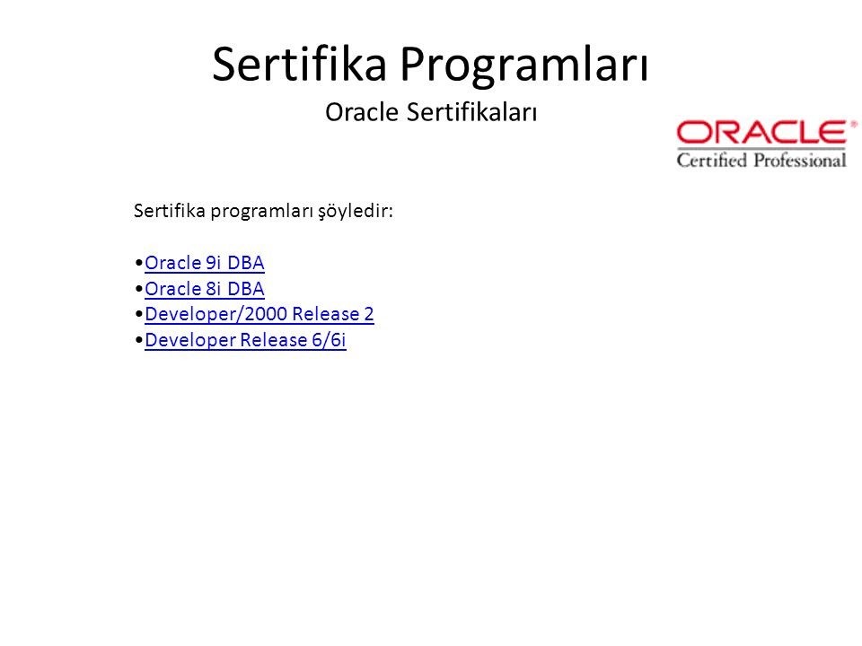 Sertifika Programları Microsoft Sertifikaları 1.Microsoft Certified Systems Engineer (MCSE) for Windows Server 2003Microsoft Certified Systems Enginee
