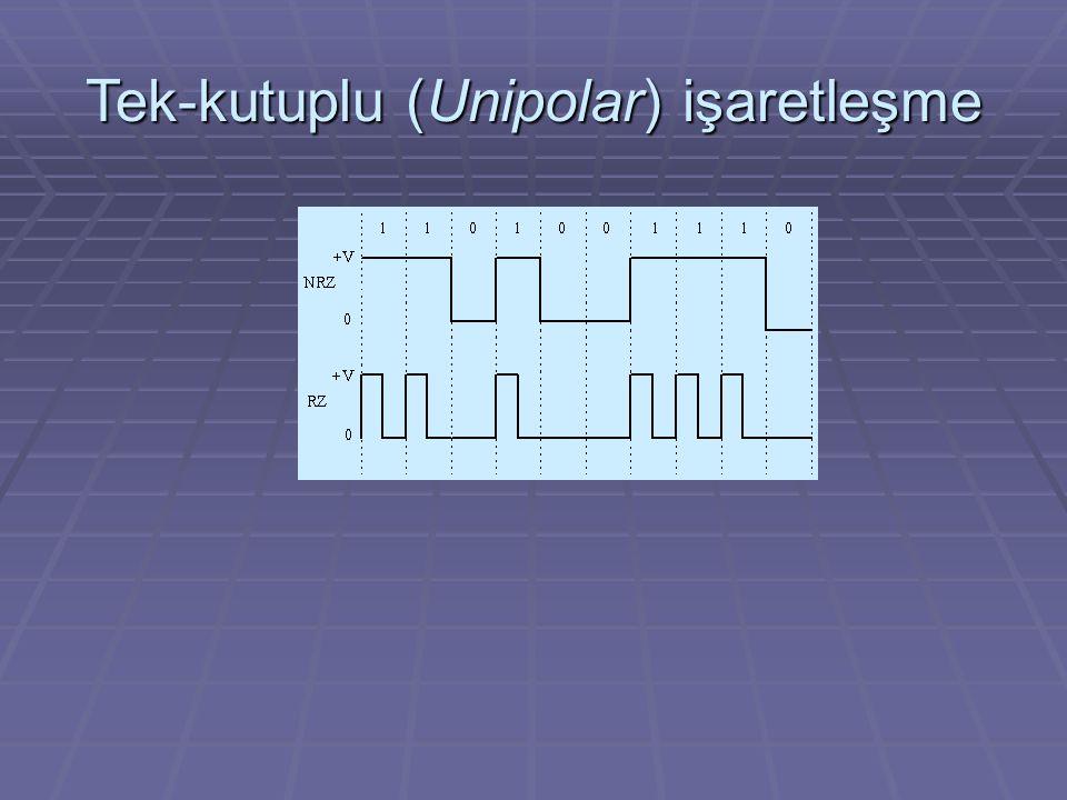 Tek-kutuplu (Unipolar) işaretleşme