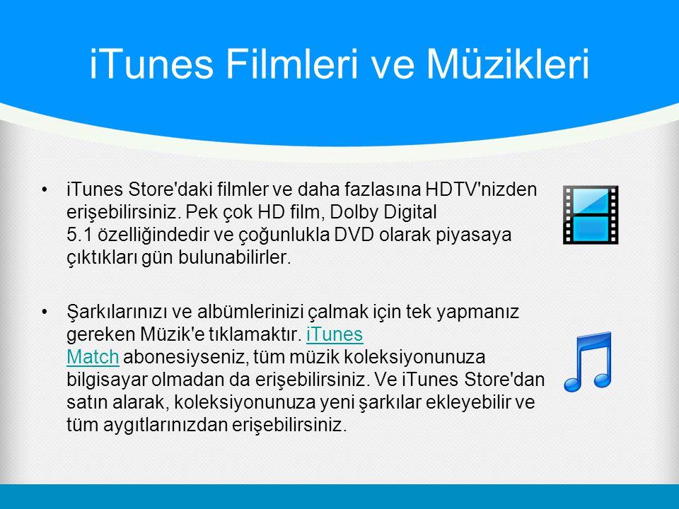 Apple TV'de Başka Neler Var.