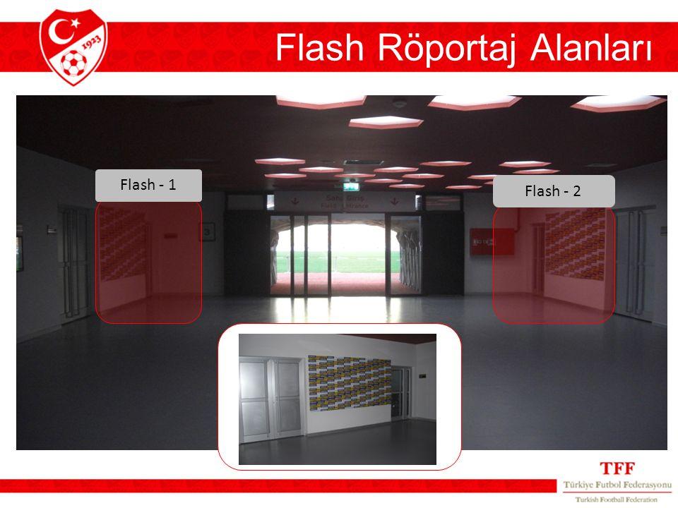 Flash - 1 Flash - 2 Flash Röportaj Alanları