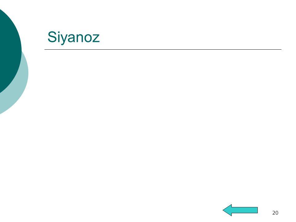 20 Siyanoz