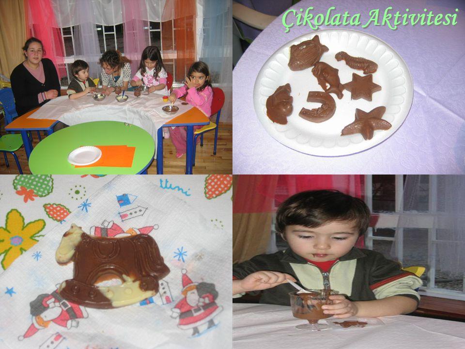 Çikolata Aktivitesi