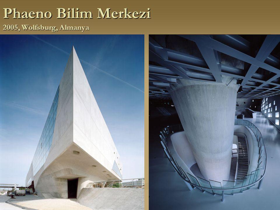 Phaeno Bilim Merkezi 2005, Wolfsburg, Almanya