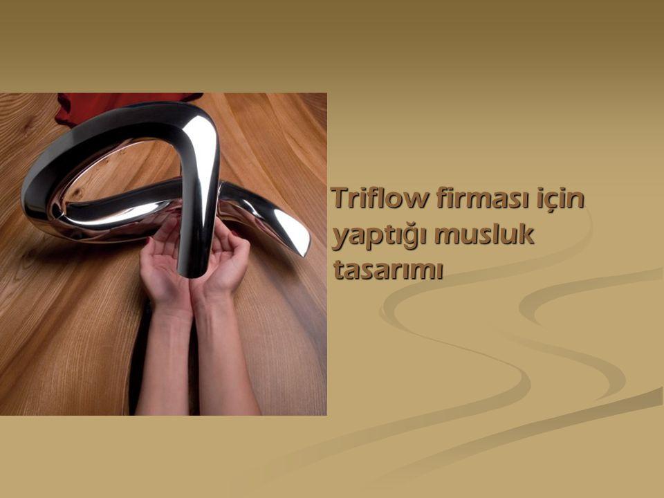 Triflow firması için yaptı ğ ı musluk tasarımı Triflow firması için yaptı ğ ı musluk tasarımı