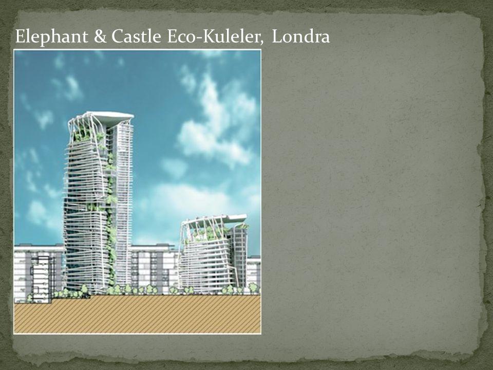 Elephant & Castle Eco-Kuleler, Londra