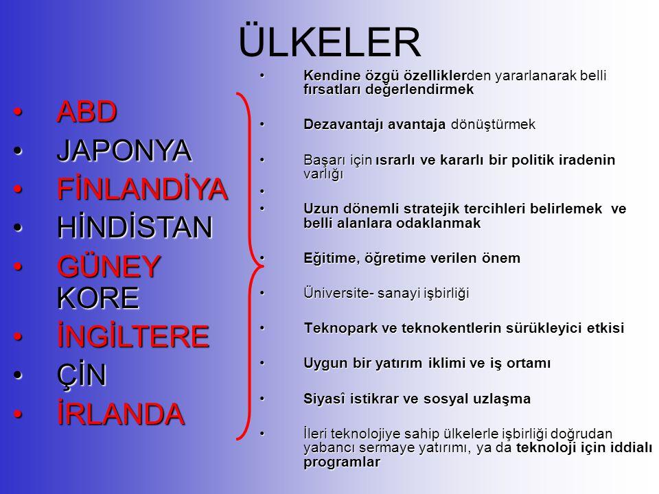 Bilgi Toplumu Açısından Türkiye'nin Küresel Konumu Türkiye'nin karmaşık yapısı: tarım toplumu sanayi toplumu bilgi toplumu Bu dezavantajlı yapı ancak doğru politikaların uygulanmasıyla avantaja dönüştürülebilir.