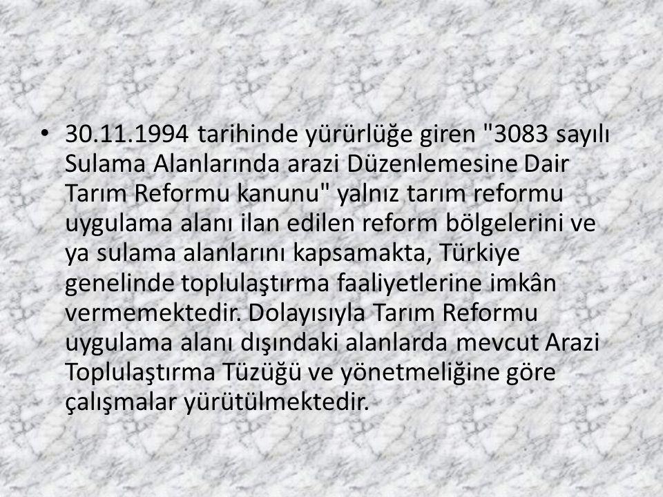 30.11.1994 tarihinde yürürlüğe giren