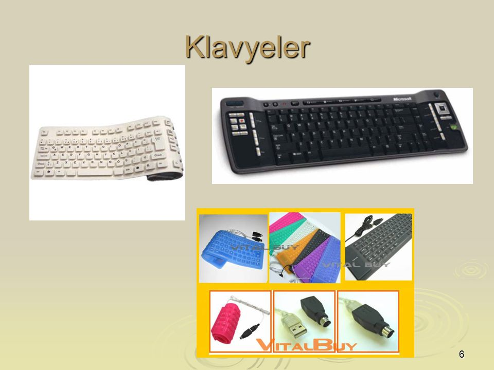 6 Klavyeler