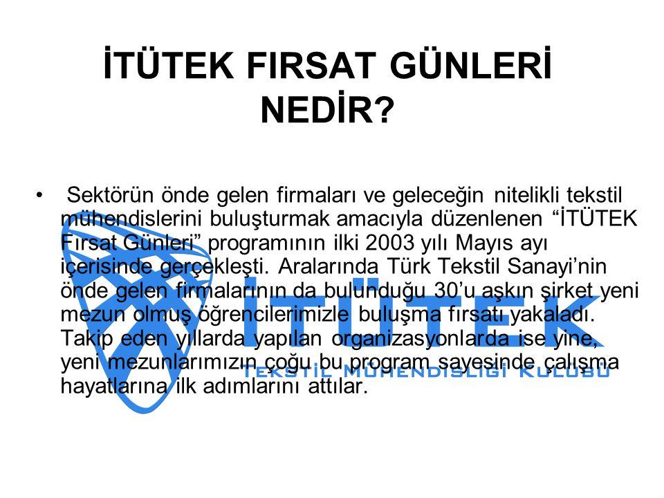 İTÜTEK FIRSAT GÜNLERİ NEDİR.