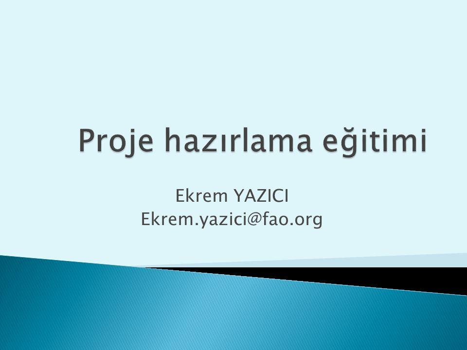 Ekrem YAZICI Ekrem.yazici@fao.org