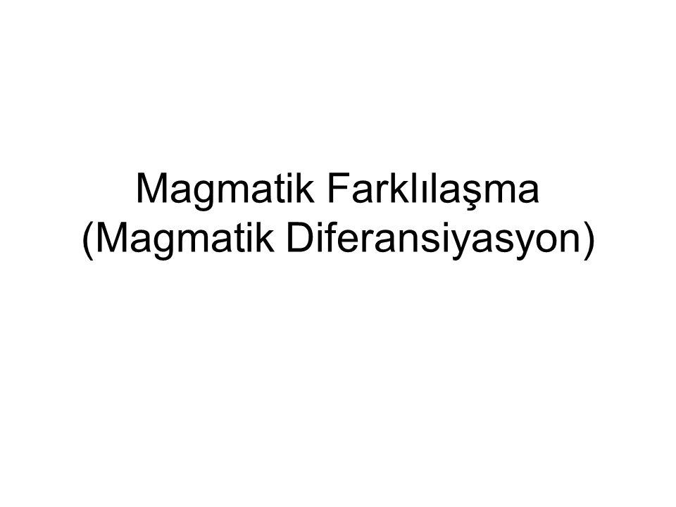 Magmatik Farklılaşma (Magmatik Diferansiyasyon)