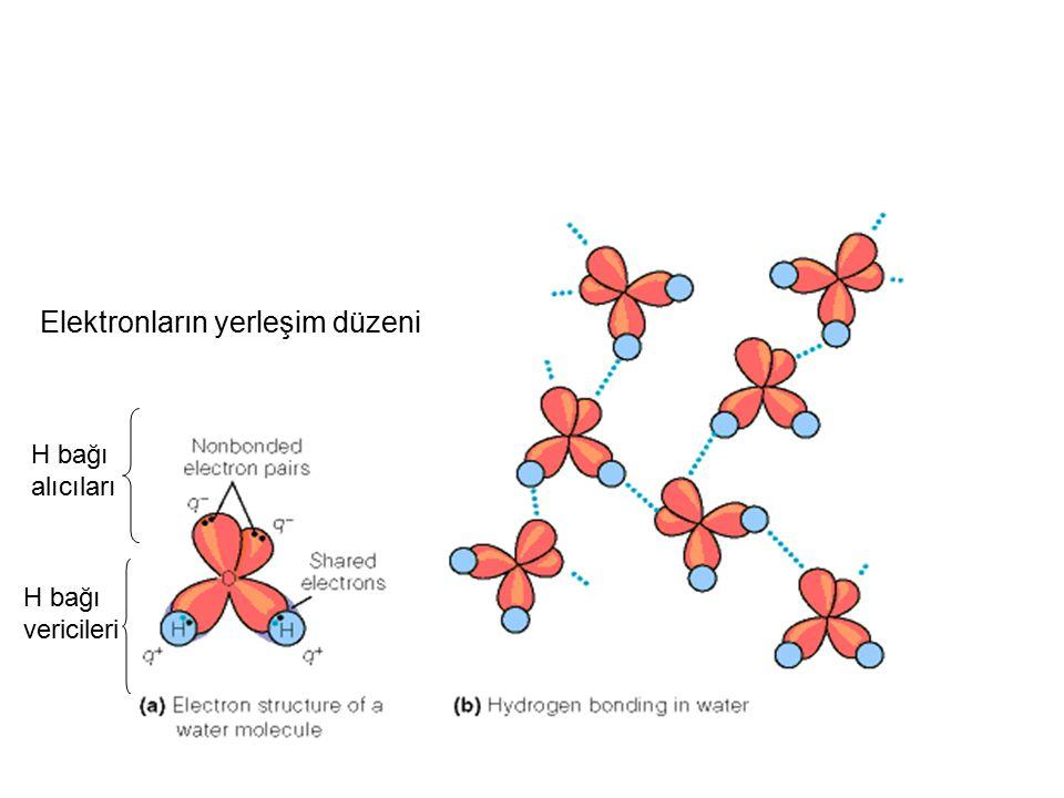 Elektronların yerleşim düzeni H bağı alıcıları H bağı vericileri