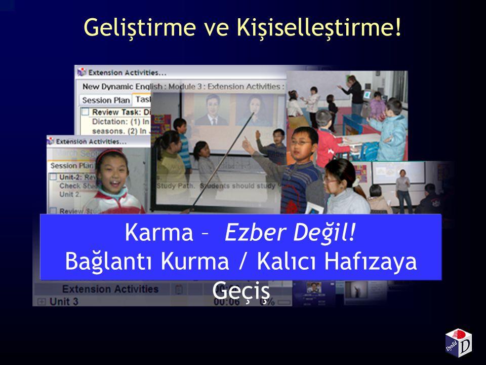 Çoklu Ortamda Etkileşimli Eğitim Çokyönlü Karma Eğitim Sistemi Çalışma ve ödevler Etkili Çalışma T ekrar Anlatma, Yönlendirme, Kişiselleştirme ve Grup