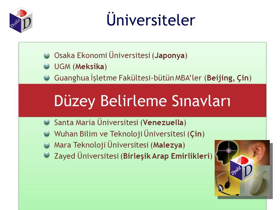 Çin – Milli Eğitim Bakanlığı –Teknoloji Eğitim Merkezleri (5 eyalet) –Öğretmen Eğitimi, Pekin – (2000 öğretmen – 6 yıl) Türkiye - Milli Eğitim Bakanlı