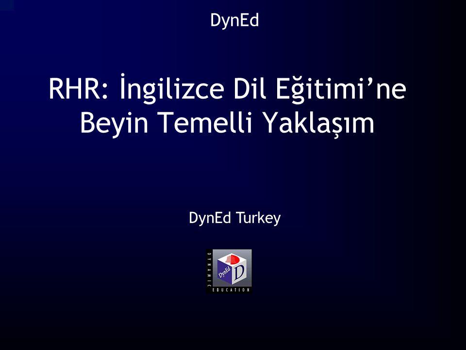 RHR: İngilizce Dil Eğitimi'ne Beyin Temelli Yaklaşım DynEd Turkey DynEd