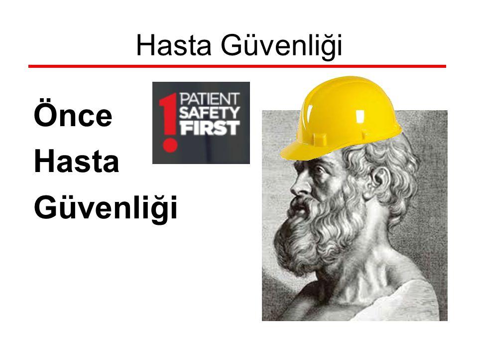 Anestezide Hasta Güvenliği DSÖ; güvenli cerrahi hayat kurtarır Eylül 2009 cerrahi güvenlik kontrol listesi Anestezi açısından uyulması gereken bazı prensipler