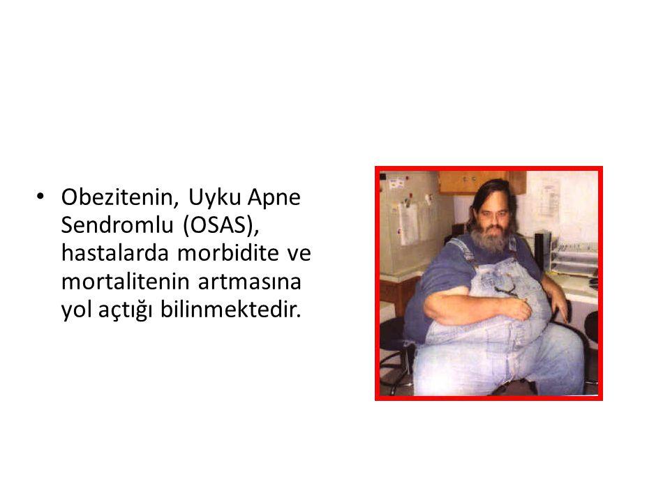 VÜCUT KİTLE İNDEKSİ BMI (VKİ): vücut ağırlığı (kilogram) / boy (metre) kare 25.0-29.9 arası olanlar aşırı kilolu 30.0-40.0 arası olanlar obez >40.0 olanlar ise morbid obez olarak değerlendirilir.