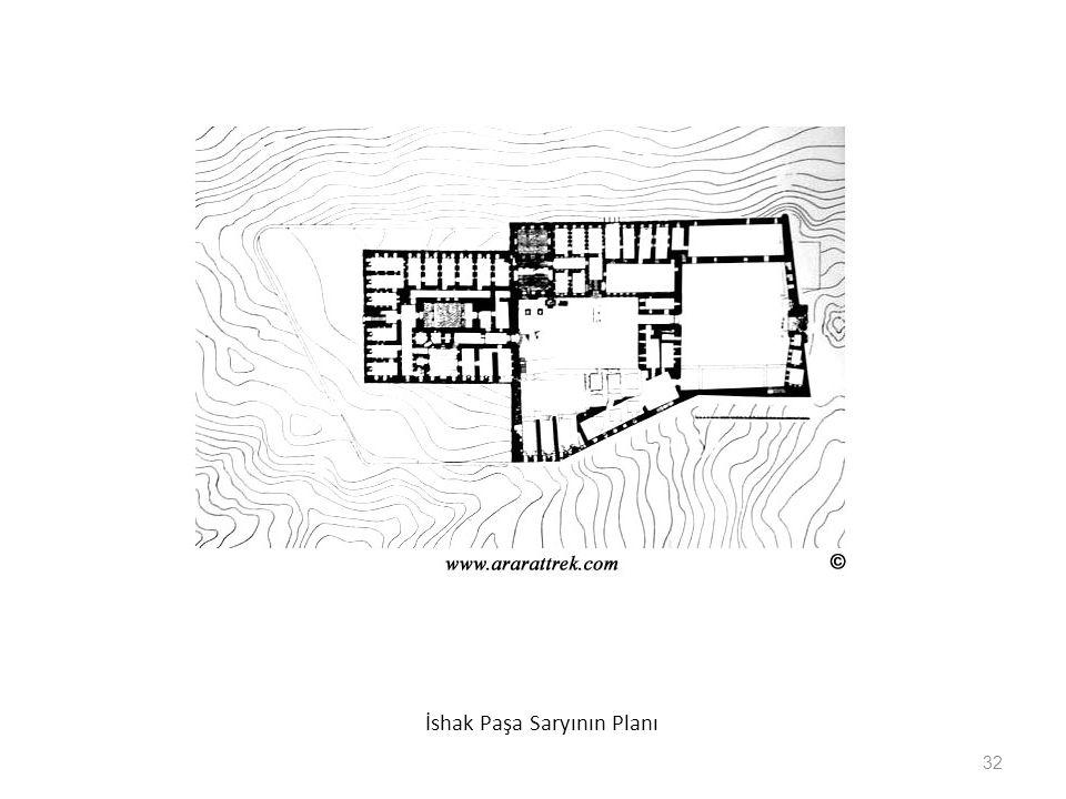 İshak Paşa Saryının Planı 32